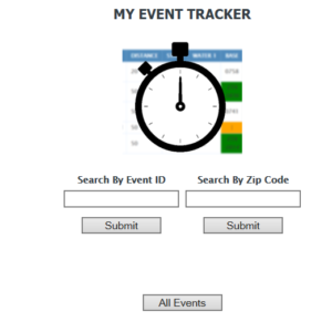 Event Participants and Support personnel and spectators can visit live.myeventtracker.net  Search by Event ID or by Zip Code